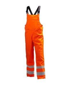 Helly Hansen Men's Alta Shelter Waterproof Bibs Hi Vis Orange Size Small 71570