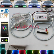 wifi remote RGB Multi-Color LED Angel Eye light for BMW E38 E39 E46 3 5 7 Series