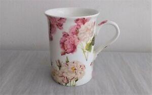 "Fine Bone China Mug ""Redoute Rose"" Northamptonshire Creative Tops, Floral, Roses"