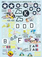 Sky Models Decals 1/72 CONSOLIDATED B-24 LIBERATOR Bomber