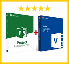 Aktivierungsschlüssel für Visio Professional 2019 und Project Pro 2019