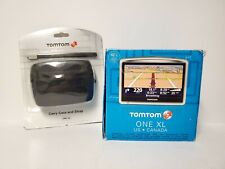 "TomTom ONE XL Car 4.3"" LCD GPS System USA & CANADA MAPS W/ NEW ACCESSORIES"