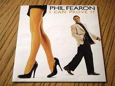 "PHIL FEARON - I CAN PROVE IT   7"" VINYL PS"