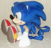 "Sega Sonic The Hedgehog Plush Backpack 20"""