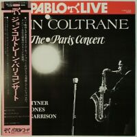 John Coltrane The Paris Concert Pablo Live MTF 1816 OBI JAPAN VINYL LP JAZZ