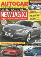 Autocar Magazine 16 September 2009 New Jag XJ  LS