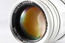 Voigtländer Color Heliar 75mm f/2.5 MC Leica Screw Mount Lens [Excellent] #451