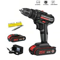 Electric Screwdriver Twisted Soft Grip Handle Cordless Drill Power Home DIY Tool