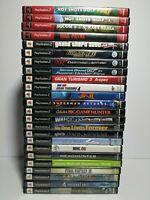 24 Playstation 2 PS2 Game Lot Gran Turismo 3 God of War GTA Jak 007 Superman +++