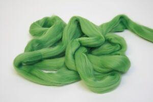 950g Fine Coloured Merino Wool 19.5mic top roving spinning felting Fern