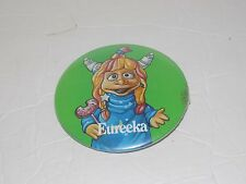 "Pizza Hut 90s Pin Button Pinback Badge ""Eureeka's Castle"" Nickelodeon Nick JR."