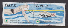 IRELAND, Scott #899-900 Se-Tenant, Used, 1993 Swimming - Complete