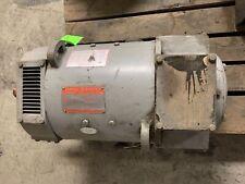 General Electric 5cd163ka001a801 Kinamatic 15 Hp Dc Motor 17502300 Rpm 500v