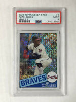 OZZIE ALBIES 2020 Topps Silver Pack 35th 1985 MOJO SP! PSA MINT 9! HUGE SALE!