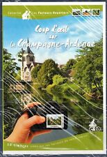 COLLECTOR TIMBRES COUP D'OEIL SUR CHAMPAGNE ARDENNE 2011 10 TIMBRES AUTOCOLLANTS