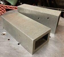 Cast 3x2x7 Box Parallel Set Up Blocks Milling Machine Machinist Tool Maker