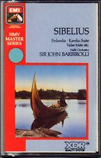"BARBIROLLI ORCHESTRAL WORKS "" SIBELIUS "" MUSICASSETTA NUOVA  EMI DIGITAL"