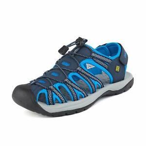Men's Hiking Adventurous Sandals Closed Toe Outdoor Beach Sport Fisherman Shoes