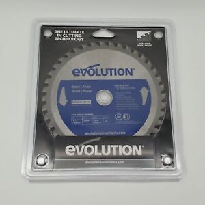 """Evolution Power Tools 7-1/4"""" 40 Tooth Mild Steel Cutting Saw Blade 5800RPM"""