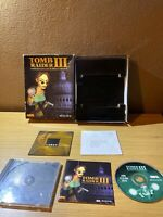Tomb Raider 3 Adventures Of Lara Croft Big Box PC CDROM Complete Windows 95 98
