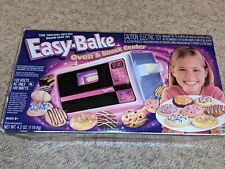 Vintage  Easy Bake Oven & Snack Center With Original Box and Accessories Working