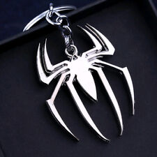 1x Silver The Avengers Spider Unique Keychain Key Fob Key chain Keyring Gift New