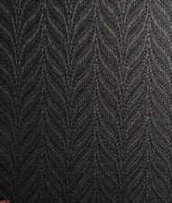 """89mm (3.5"""") VERTICAL BLIND FABRIC. FULL ROLL. 100M. FEATHERWEAVE BLACK"""