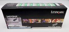 New Lexmark 34015HA High Yield Return Program Toner Cartridge E330/E332/E340