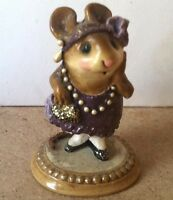 Wee Forest Folk - M-171 Zelda -SPECIAL RARE COLOR - Signed Annette Petersen 1990