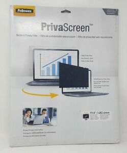 """Fellowes® PrivaScreen Blackout Privacy Filter for 19"""" LCD/Noteboo 043859541492"""