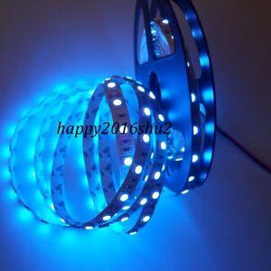 5M 5050 SMD 300 Leds Ultraviolet UV Non-Waterproof Flexible LED Strip