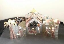 Oh Little Town Nativity Triptych Fair Trade Handmade Thailand Pilgrim Imports