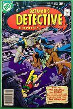 Detective Comics (1937) 473 VF+ (8.5) Batman vs Penguin Marshall Rogers