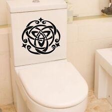Removable Irish Celtic Cross Symbol Wall Decal Vinyl Toilet Seat Sticker