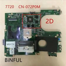 For DELL N7720 7720 motherboard CN-072P0M DA0R09MB6H1 2D GT650M 100% tested OK