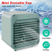 Portable USB Rechargeable Mini Air Conditioner Desktop Evaporative Cooling Fan