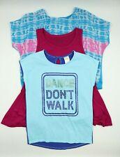 Multi Brand Girls Multi Color Short Sleeve Sleeveless Tops Set Size M 7-8