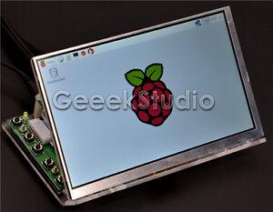 Raspberry Pi 7 inch 1024*600 LCD Screen with Driver Board + Acrylic Bracket