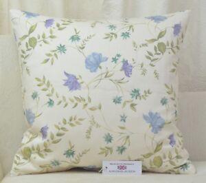 """Handmade CUSHION COVER 20""""x20""""  51cm sq. Fryetts Louisa Lavender Floral"""
