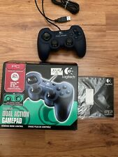 Logitech Dual Action (963292-0403) Gamepad USB PC Controller Unused With Box CD