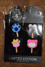 Disney 4 pc Pin lot ICE CREAM BARS Stitch Minnie Mickey Lotso CUTE!! NEW