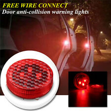 2pc Universal Wireless Car LED Door Opened Warning Light Anti-collid Flash Light