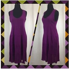 NEW Mode De Vie 100% Cotton Fuchsia Sleeveless Dress Size 8