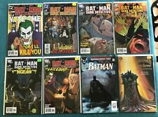 BATMAN DARK DETECTIVE 1 2 3 4 5 6 JOKER ENGLEHART HOLY TERROR NM ANNUAL 15 NM