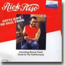 RICK RISO-Gotta Have the real thing            JAPAN CD