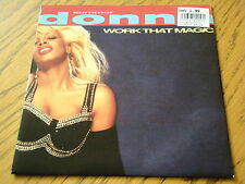 "DONNA SUMMER - WORK THAT MAGIC  7"" VINYL PS"