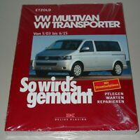 Reparaturanleitung VW Multivan VW Transporter T5 T 5 So wirds gemacht Buch NEU!