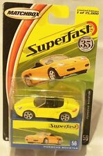 Mj7 Matchbox - 2004 Superfast #56 - Porsche Boxter - Yellow