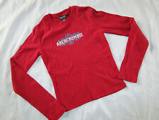 Abercrombie Kids Printed Girls Top 100% Cotton Size Small     # 841