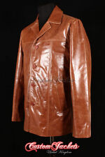 Men's Collared Trench Coats, Macs Hip Length Button Coats & Jackets